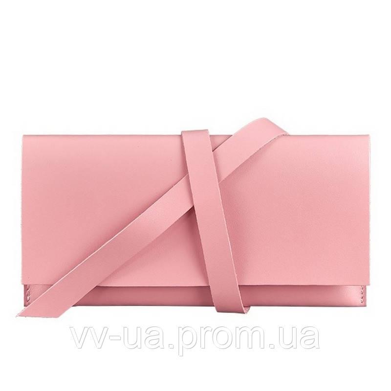 Тревел-кейс BlankNote Voyager 1.0 Розовый (BN-TK-1-pink-peach), кожа