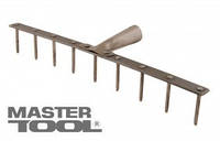 MasterTool  Грабли металлические 9 зуб 420*60 мм, Арт.: 14-6238