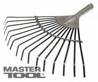 MasterTool  Грабли веерные пластинчатые оцинкованные 15 зуб 370*400 мм, Арт.: 14-6236
