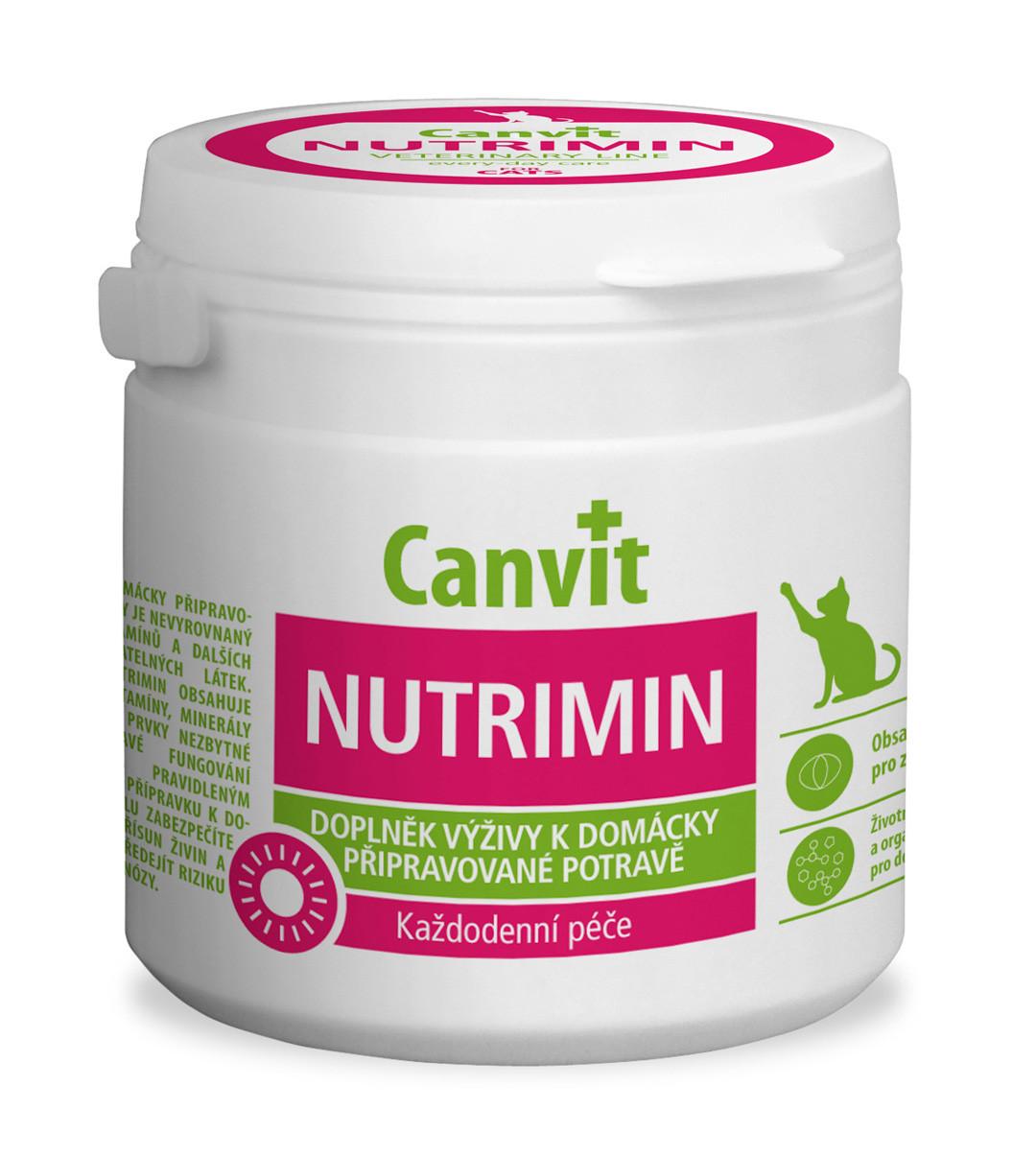 Витаминно-минеральный комплекс для кошек при натуральном кормлении Canvit Nutrimin 150 г