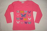 Реглан для девочки с бабочками
