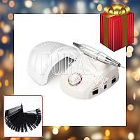Набор лампа SunOne 48W + фрезер ZS-603 35 000 об/мин