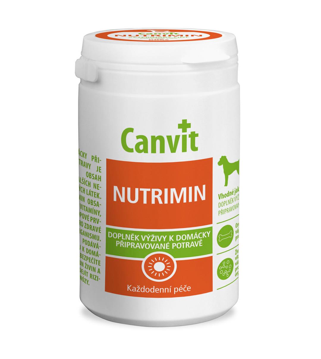 Витаминно-минеральный комплекс для собак при натуральном кормлении Canvit Nutrimin 230 г