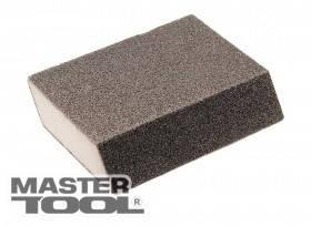 MasterTool  Губка для шлифования РОМБ Р180 110*75*25 мм, Арт.: 08-0518