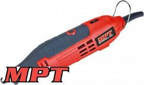 MPT  Мини - шлифовальная машина 160 Вт, 10000-36000 об/мин, цанга 3.2 мм, аксессуары 60 шт, кейс, Арт.: MMG1603