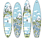 """SUP доска Gladiator FOREST 11'2"""" x 31"""" x 4,75"""", 26psi, 2020, фото 2"""