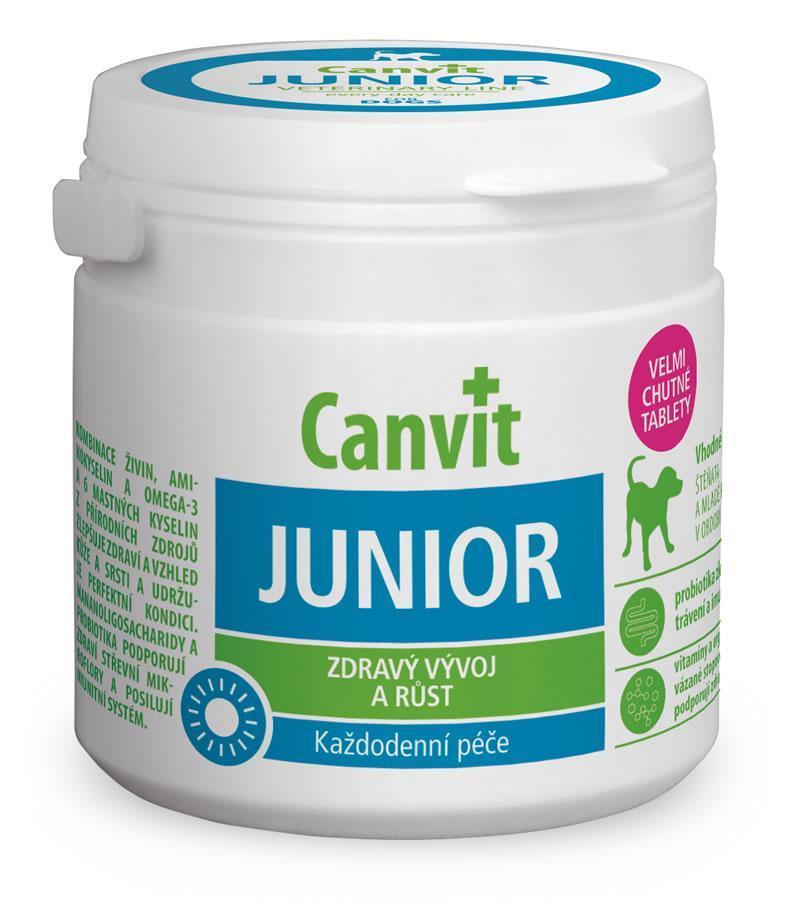 Витаминно-минеральный комплекс для щенков Canvit Junior 230 табл.