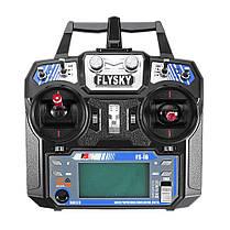 FlySky FS-i6 2.4G 6CH AFHDS Дистанционное Управление Передатчик с FS-R6B Приемник Для RC FPV Дрон - Режим 2 - 1TopShop, фото 2