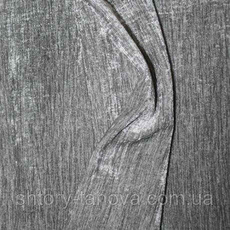 Шенилл для штор однотонный св.серый