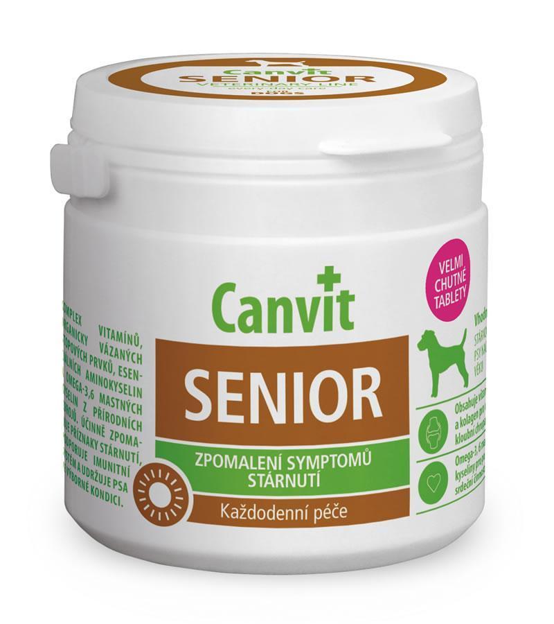 Вітамінно-мінеральний комплекс собак старше 7 років Canvit Senior 500 табл.