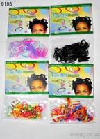Резинка Африканское плетение (силикон.мелкая) 9193