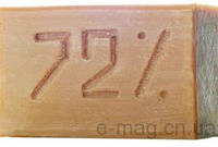 Хозяйственное мыло К 72% 200гр. овальное