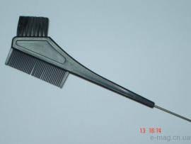 Кисть для покраски с расчёской Китай 10615