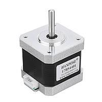 HANPOSE17HS440140ммNema17 Stepper Мотор 42 Мотор 42BYGH 1.7A 40N.cm 4-вывод, для ЧПУ 3D-принтер-1TopShop