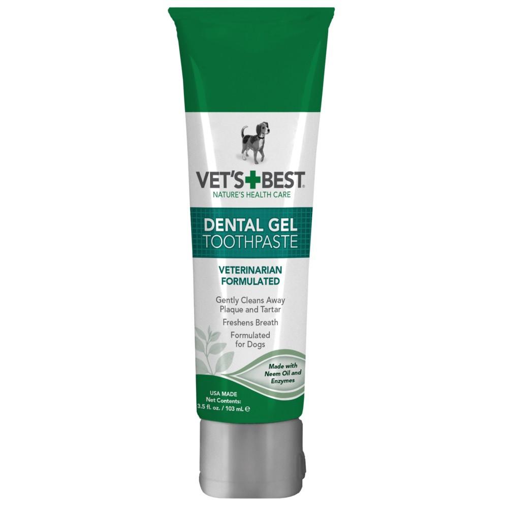 Гель для чистки зубов у собак Vet's Best Dental Gel Toothpaste 103 мл