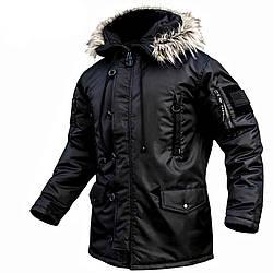 Куртка Аляска 2 Черная
