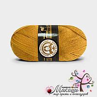 Пряжа Madame Tricote Paris Мерино голд, №115, горчичный
