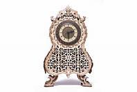 Классические винтажные часы Деревянный 3D пазл Wood Trick (механический деревянный конструктор)