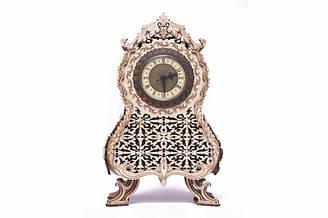 Класичний вінтажний годинник Дерев'яний 3D пазл Wood Trick (механічний дерев'яний конструктор)