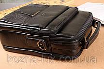 Мужская большая сумка из натуральной кожи, фото 3