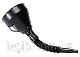 Воронка пластмассовая Sparta D 120 мм, гибкий наконечник для горюче-смазочных материалов