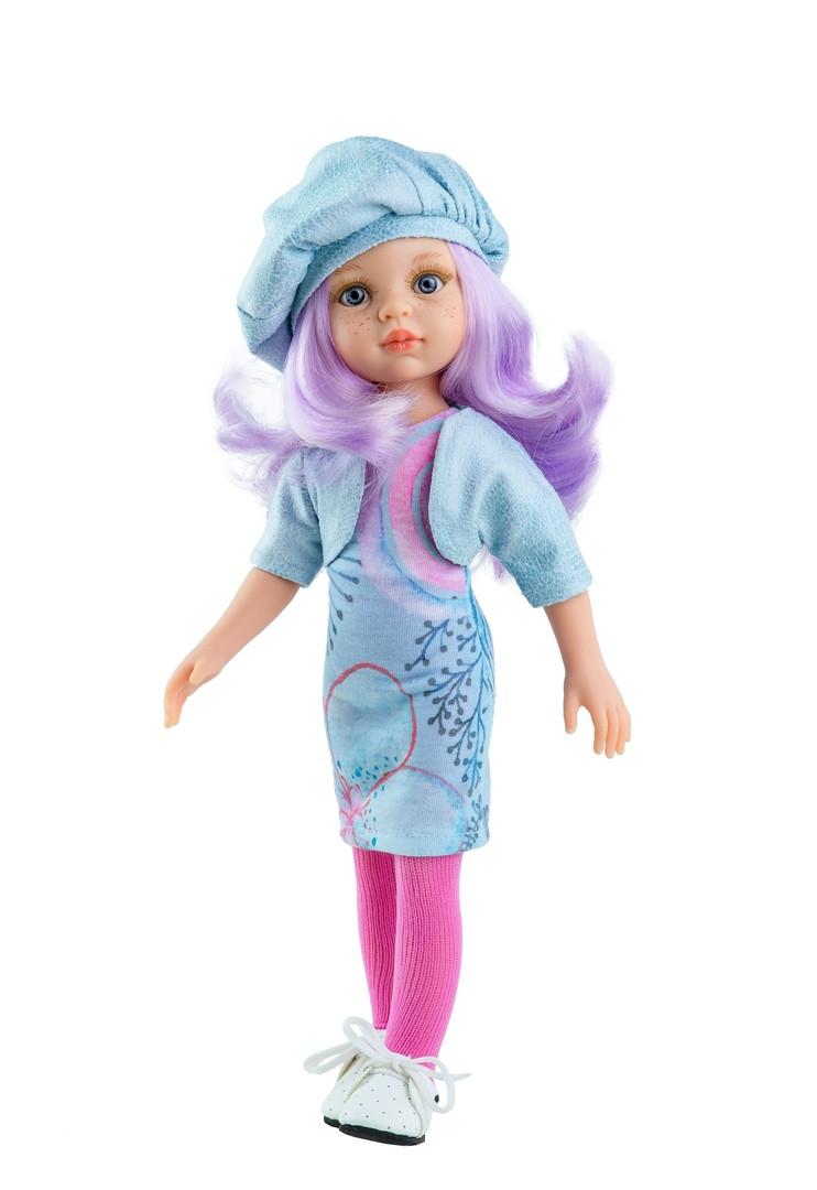 Кукла Паола Рейна Карин с сиреневыми волосами Paola Reina