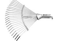 Грабли веерные без черенка Palisad, колличество зубьев 22, раздвижные, 270x60 мм