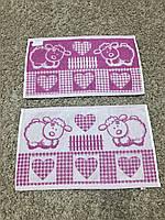 Махровое кухонное  полотенце  салфетка  50/30  см Овечка