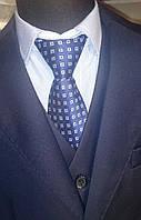 Костюм в школу для мальчика V.G. BOZER, синий (тройка: пиджак, брюки, жилетка)V.G.BOZER