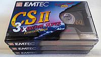 Аудиокассеты EMTEC SUPER CHROME position CS2-60 min MADE GERMANY