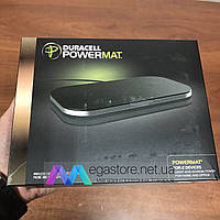 Беспроводная зарядка Duracell Powermat Black для двух устройств портативное зарядное устройство для телефона