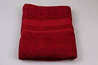 Махровая простынь Бордовый , размер 200/200 см Узбекистан