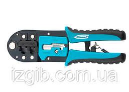 Клещи для обжима телефонных и компьютерных кабелей Gross RJ-11/12,6P,8P
