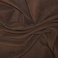 Декор-нубук хлопок т.коричневый