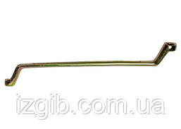 Ключ накидной СибрТех 10x3 мм желтый цинк