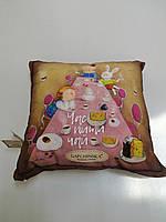 Подушка Декоративная  Гапчинская Алиса Посиденьки размер 43/43см Gapchinska