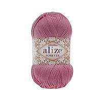 Пряжа Ализе Форевер Alize Forever, цвет №39 розовый