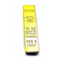 "Зажигалка USB ""Слиток Золота"" (8х2х1 см) ( 32701)"