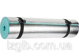 Коврик 1800х500х6 мм, фольгированная поверхность Palisad 64441