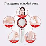 Массажер для тела и лица ручной 6в1 EMS антицеллюлитный, ультразвуковой Doc-team Body для похудения, фото 2