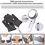 Массажер для тела и лица ручной 6в1 EMS антицеллюлитный, ультразвуковой Doc-team Body для похудения, фото 6