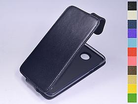 Откидной чехол из натуральной кожи для Motorola Moto Z2 Play XT1710