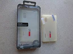 Чехол для LG Optimus L5 E612 + плёнка