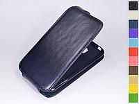 Откидной чехол из натуральной кожи для Nokia 1 Dual SIM