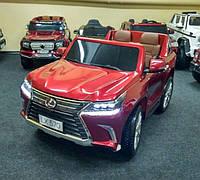 Детский электромобиль джип Lexus (LX 570)M 3906(МР4)EBLRS-3 бордо лак