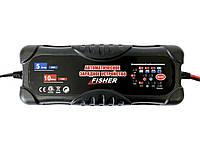 Зарядное для гелевых аккумуляторов 12/24V - Fisher 2/5/10А, фото 2