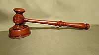 Молоток судейский деревянный
