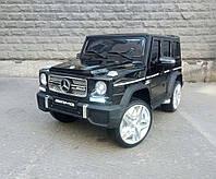 """Детский электромобиль джип Mercedes Brabus G65 AMG (4WD),""""VIP"""", черный лак"""