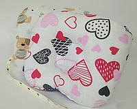 Ортопедическая двусторонняя подушка для новорожденных