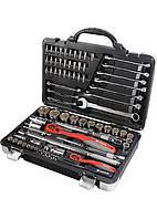 Набор инструмента Matrix Professional 1/4 1/2 CrV S2 усиленный кейс 77 предметов